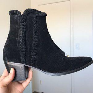 Black booties by Matisse